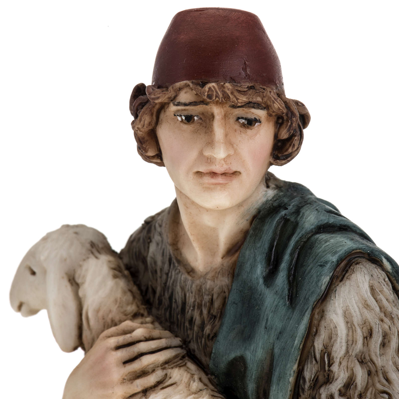 Figurines for Landi nativities, Good Shepherd 18cm 3