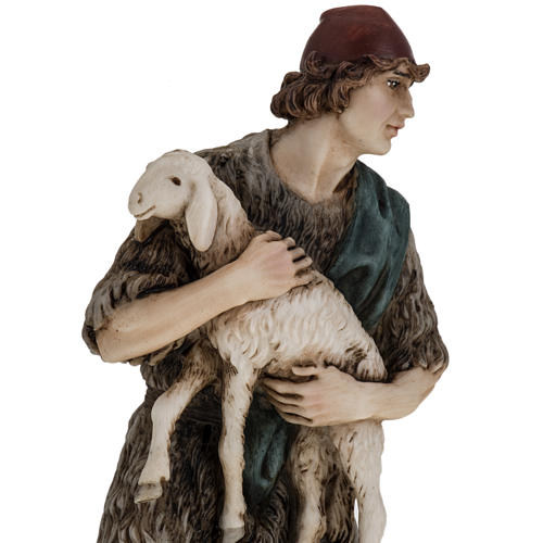 Figurines for Landi nativities, Good Shepherd 18cm 4