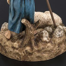 Guardiano con pecora 18 cm presepe Landi s6