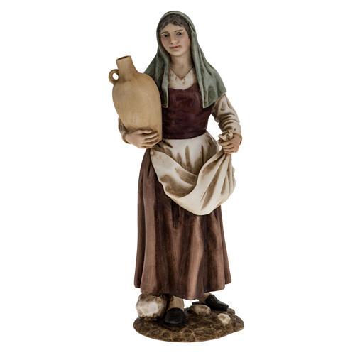Donna con anfora 18 cm presepe Landi 1