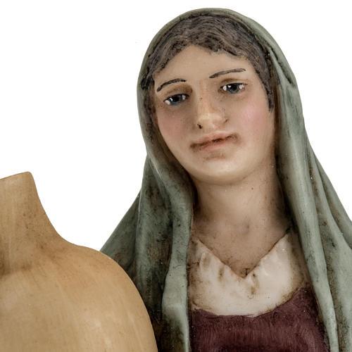 Donna con anfora 18 cm presepe Landi 4