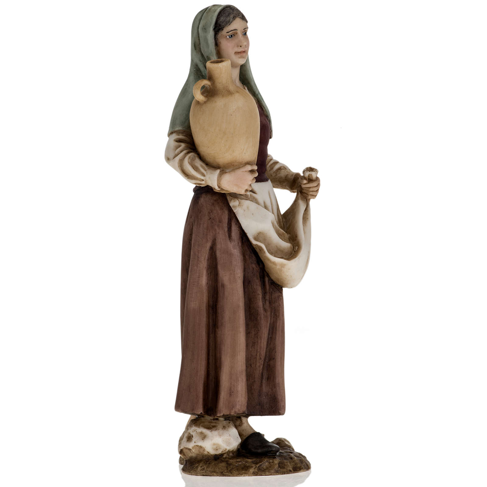 Figurines for Landi nativities, woman with amphora 18cm 3