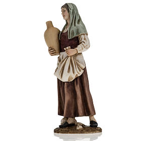 Figurines for Landi nativities, woman with amphora 18cm s3