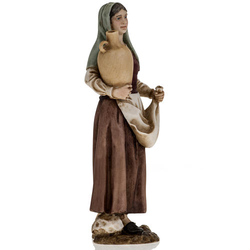 Figurines for Landi nativities, woman with amphora 18cm 2