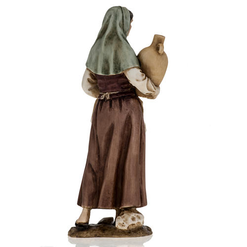 Figurines for Landi nativities, woman with amphora 18cm 5
