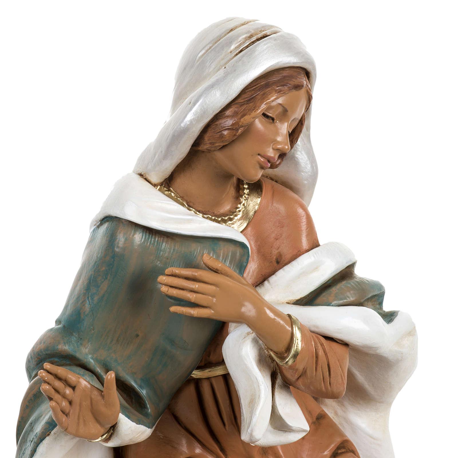 Maria presepe Fontanini 45 cm 4