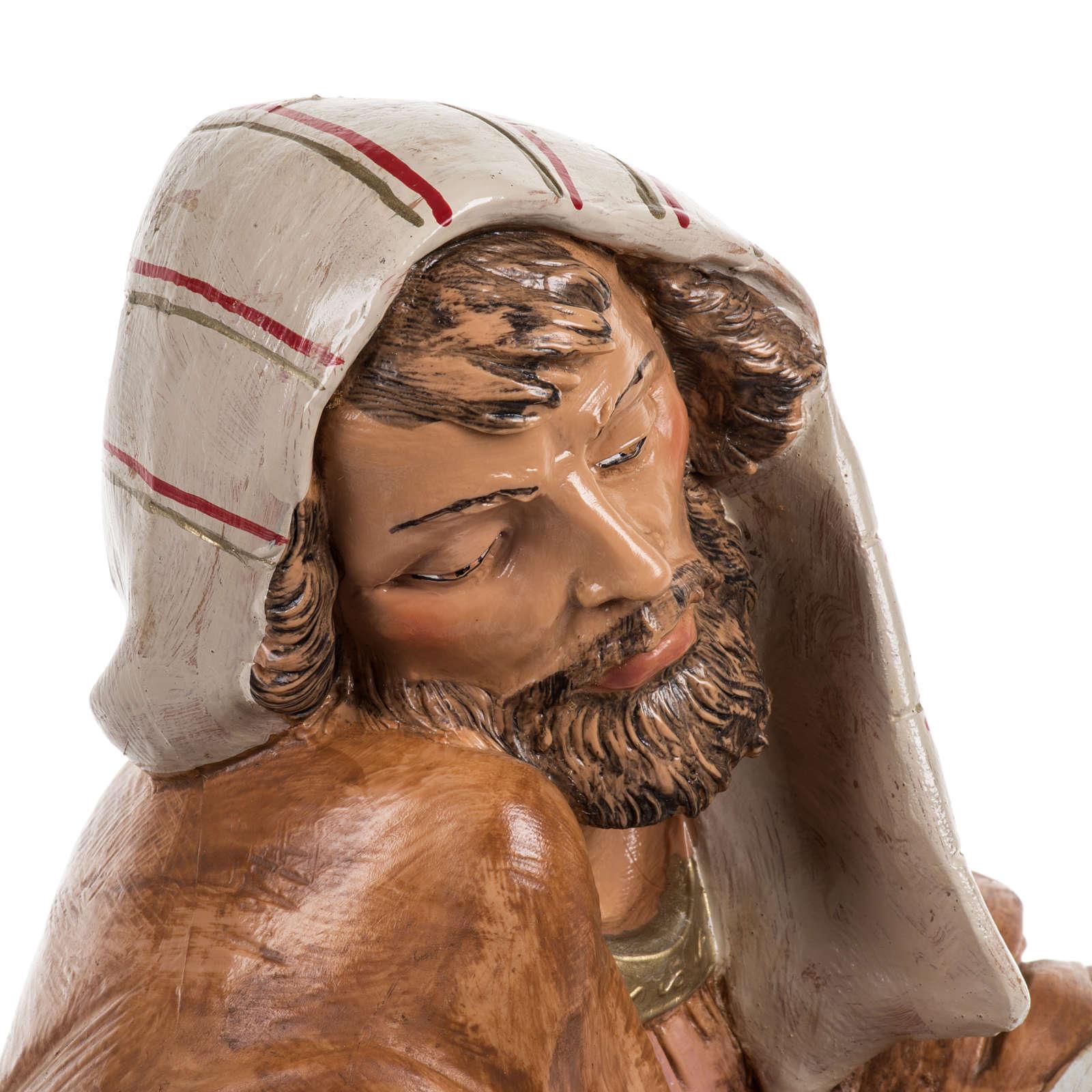 St Joseph crèche Fontanini 45 cm 3