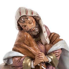 St Joseph crèche Fontanini 45 cm s4