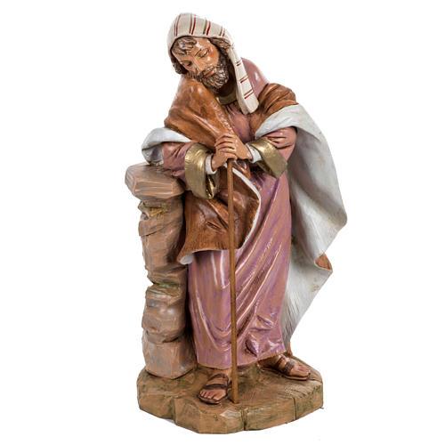 St Joseph crèche Fontanini 45 cm 1