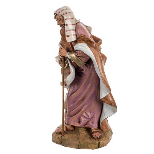 St Joseph crèche Fontanini 45 cm 5