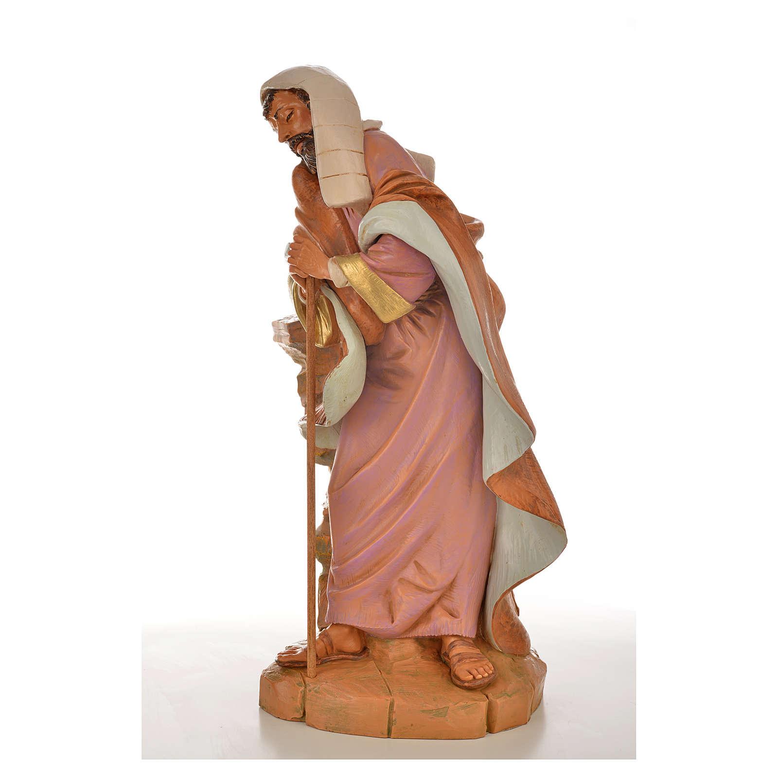San Giuseppe presepe Fontanini 45 cm 4