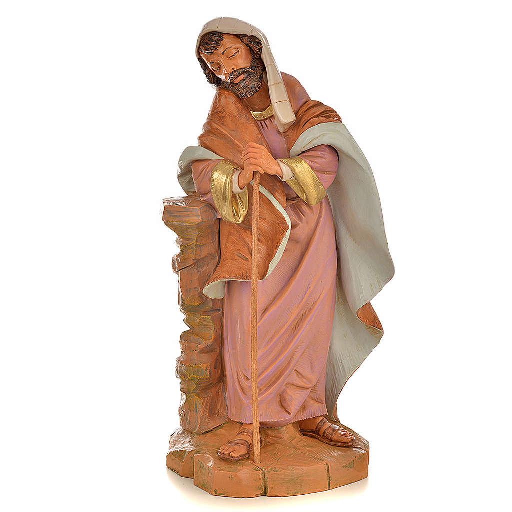 San Giuseppe presepe Fontanini 45 cm 3