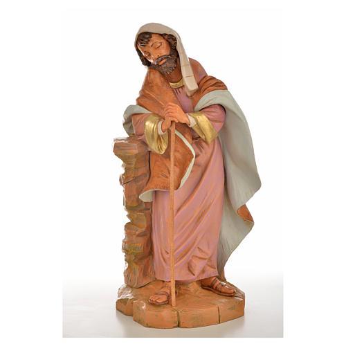 San Giuseppe presepe Fontanini 45 cm 6