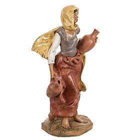Femme avec amphore crèche Fontanini 45 cm s3