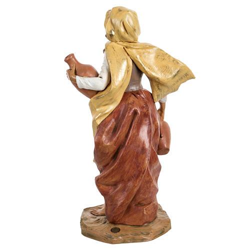 Femme avec amphore crèche Fontanini 45 cm 4