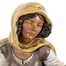 Donna con anfore presepe Fontanini 45 cm s2