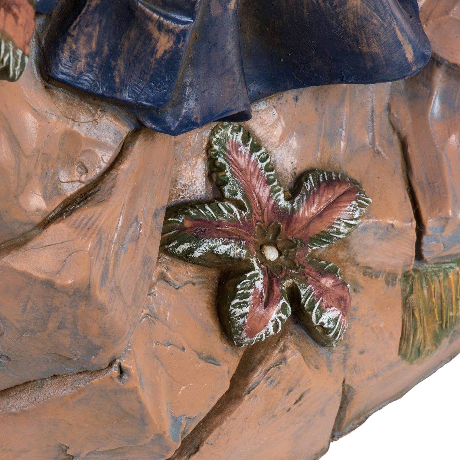 Zampognaro presepe Fontanini 45 cm 4