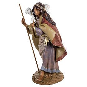 Pastore con pecora presepe Fontanini 45 cm s3