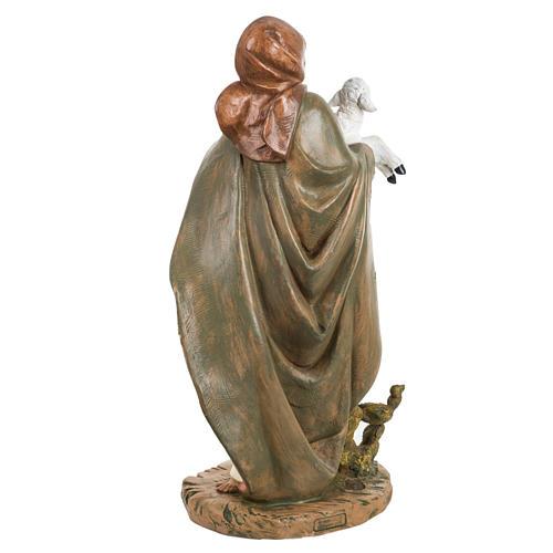 Donna con agnello presepe 45 cm Fontanini 4