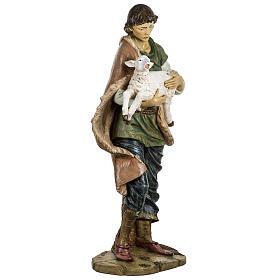 Pastore con pecora 180 cm resina Fontanini s5