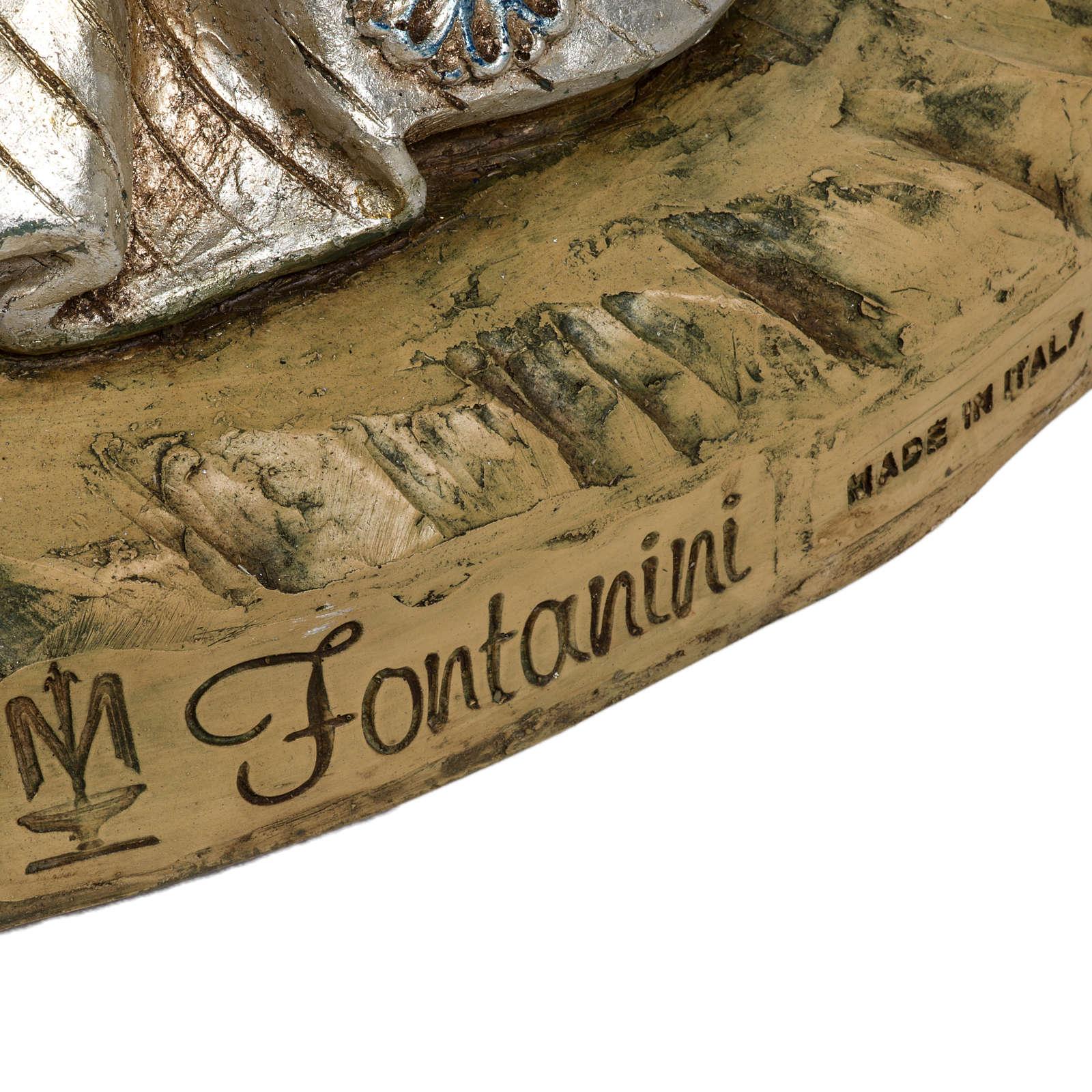 Re Magio bianco 180 cm resina Fontanini 3