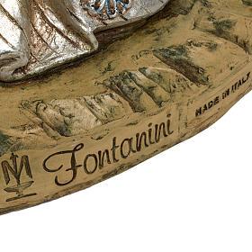 Re Magio bianco 180 cm resina Fontanini s6