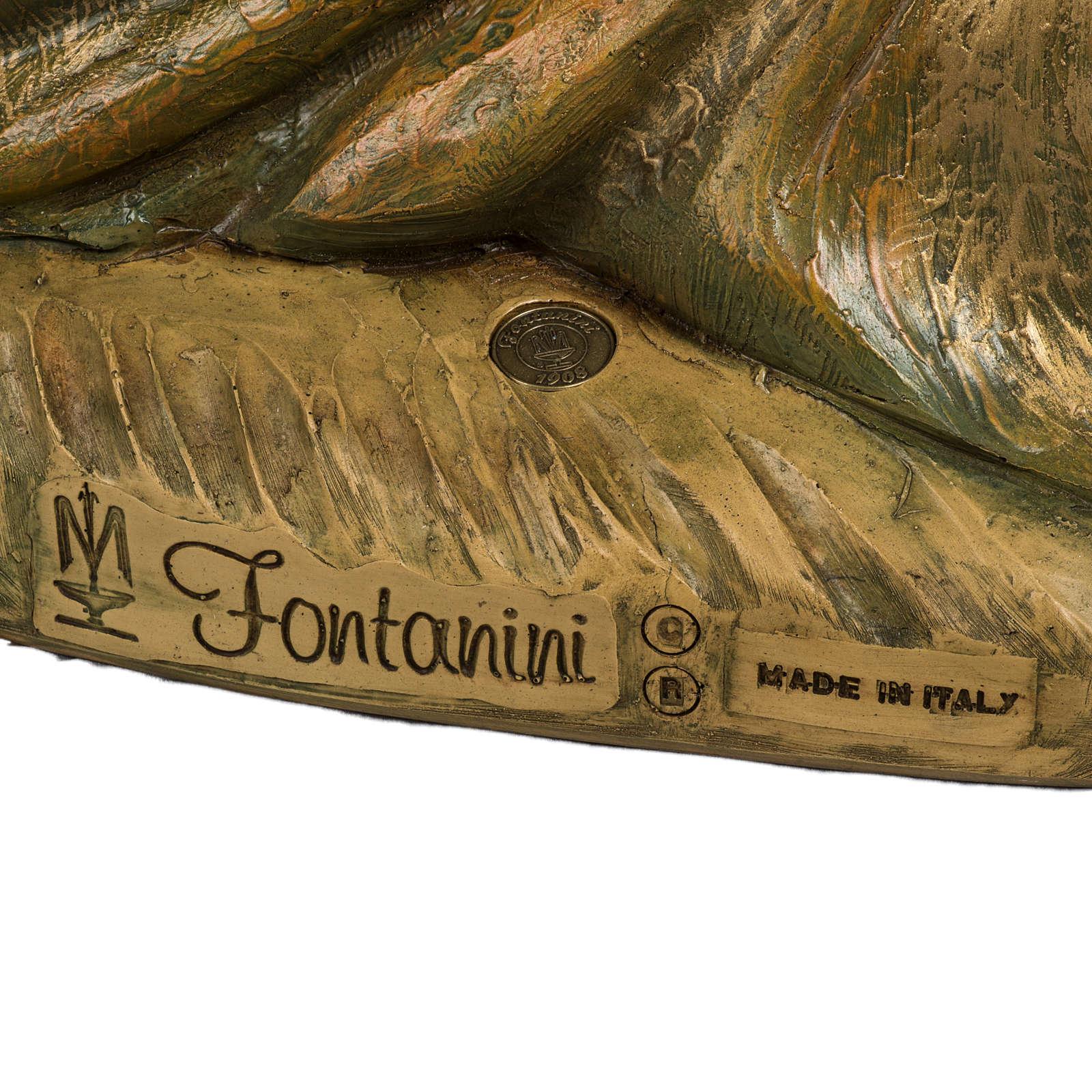 Re Magio nero 180 cm resina Fontanini 3