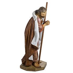 Saint Joseph crèche Fontanini 125 cm résine s4