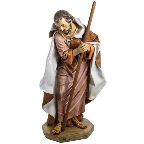 Saint Joseph crèche Fontanini 125 cm résine 1