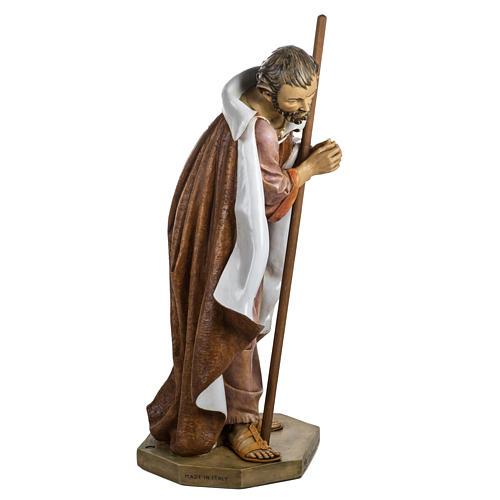 Saint Joseph crèche Fontanini 125 cm résine 4