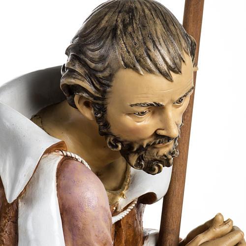Saint Joseph crèche Fontanini 125 cm résine 5