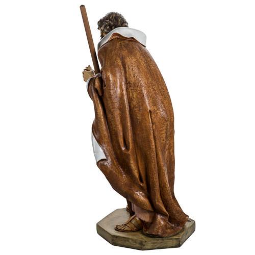 Saint Joseph crèche Fontanini 125 cm résine 7