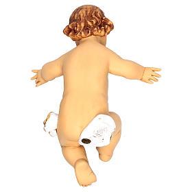 Niño Jesús 125 cm. con cuna resina Fontanini s3