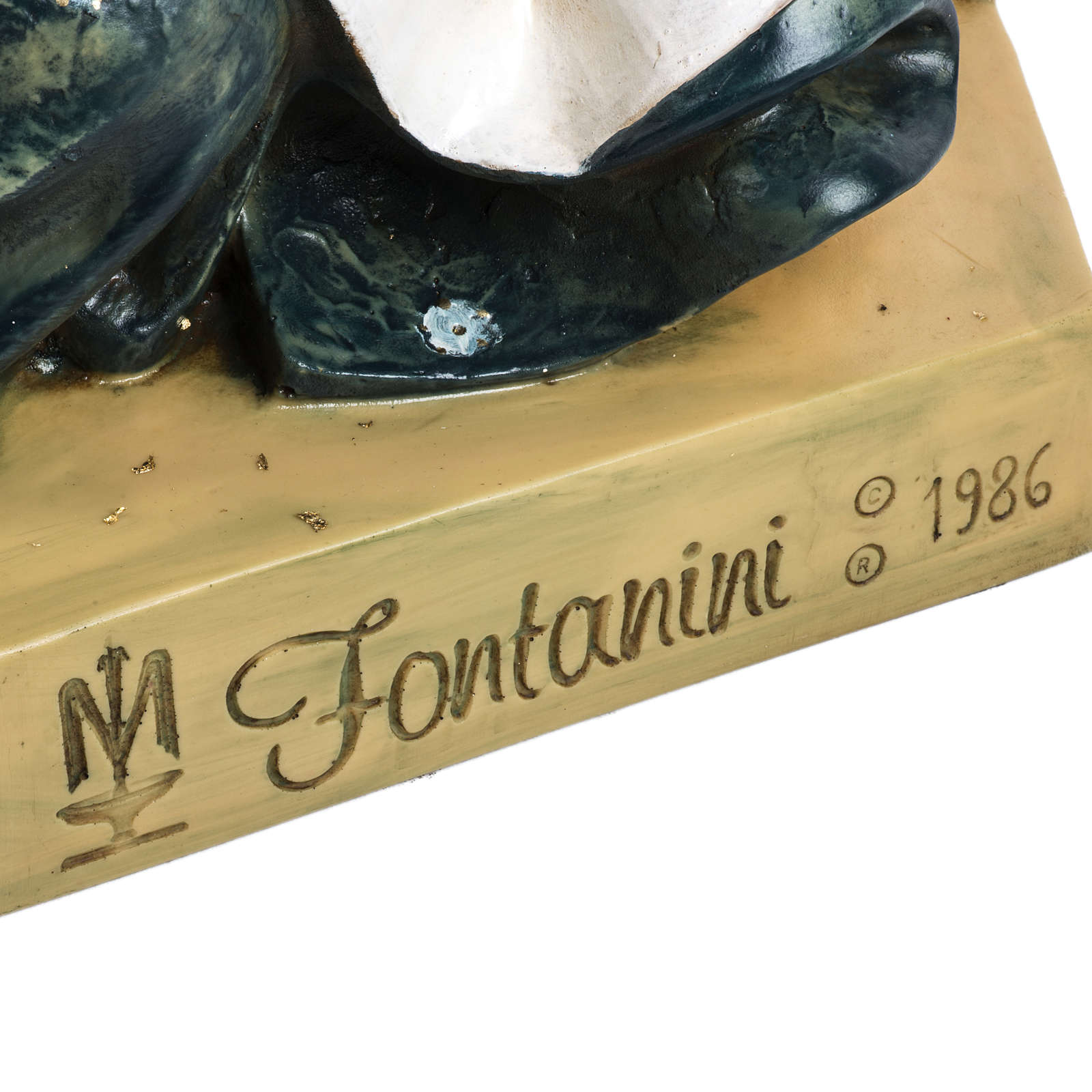 Maria 125 cm resina Fontanini 3