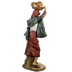 Donna con bimbo 125 cm resina Fontanini s6