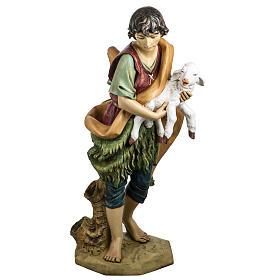 Pastore con pecora 125 cm presepe Fontanini s1