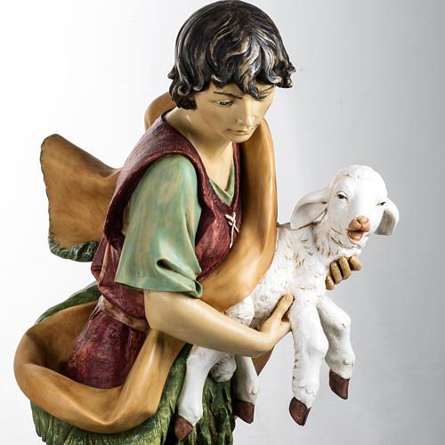 Pastore con pecora 125 cm presepe Fontanini 2
