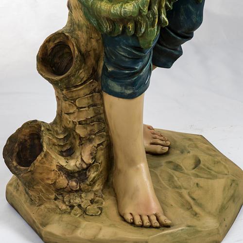Pastore con pecora 125 cm presepe Fontanini 3