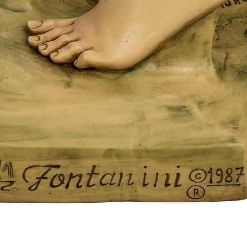 Pastore con pecora 125 cm presepe Fontanini 5
