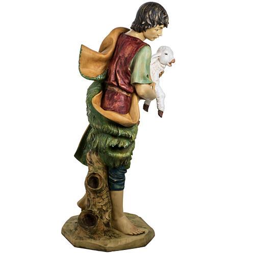 Pastore con pecora 125 cm presepe Fontanini 6