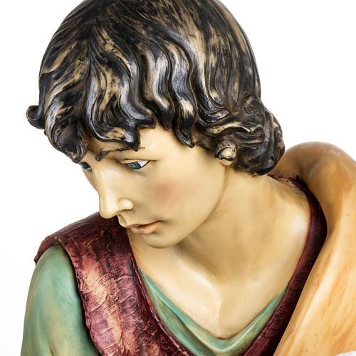 Pastore con pecora 125 cm presepe Fontanini 7