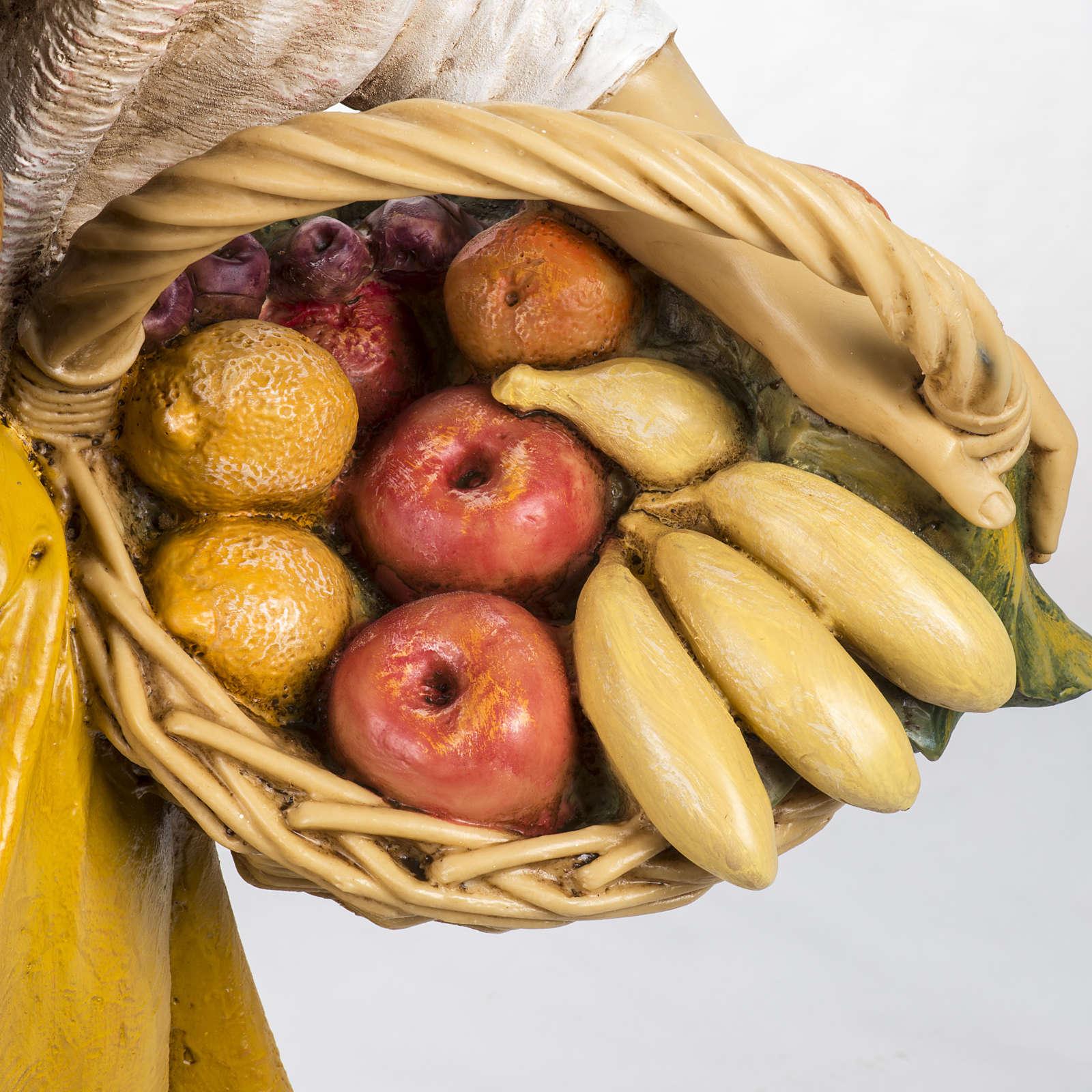 Bimba con frutta 125 cm presepe Fontanini 3