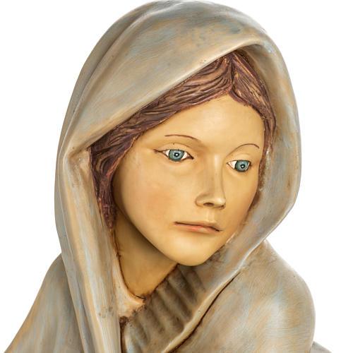 Femme avec fruits crèche Fontanini 125 cm résine 5