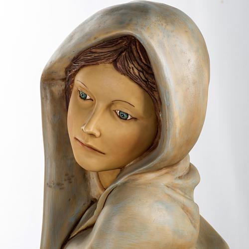 Femme avec fruits crèche Fontanini 125 cm résine 13
