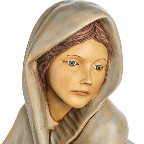 Femme avec fruits crèche Fontanini 125 cm résine 6