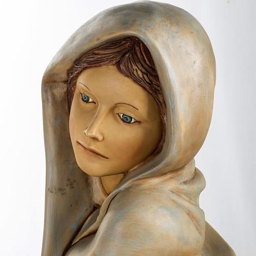 Femme avec fruits crèche Fontanini 125 cm résine 14