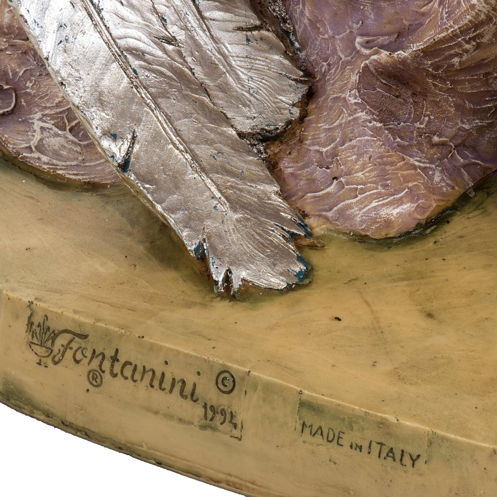 Angelo in ginocchio per Presepe Fontanini da 125 cm 3