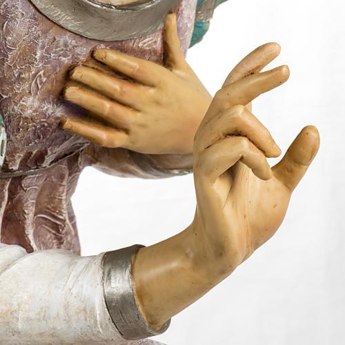 Angelo in ginocchio per Presepe Fontanini da 125 cm 6