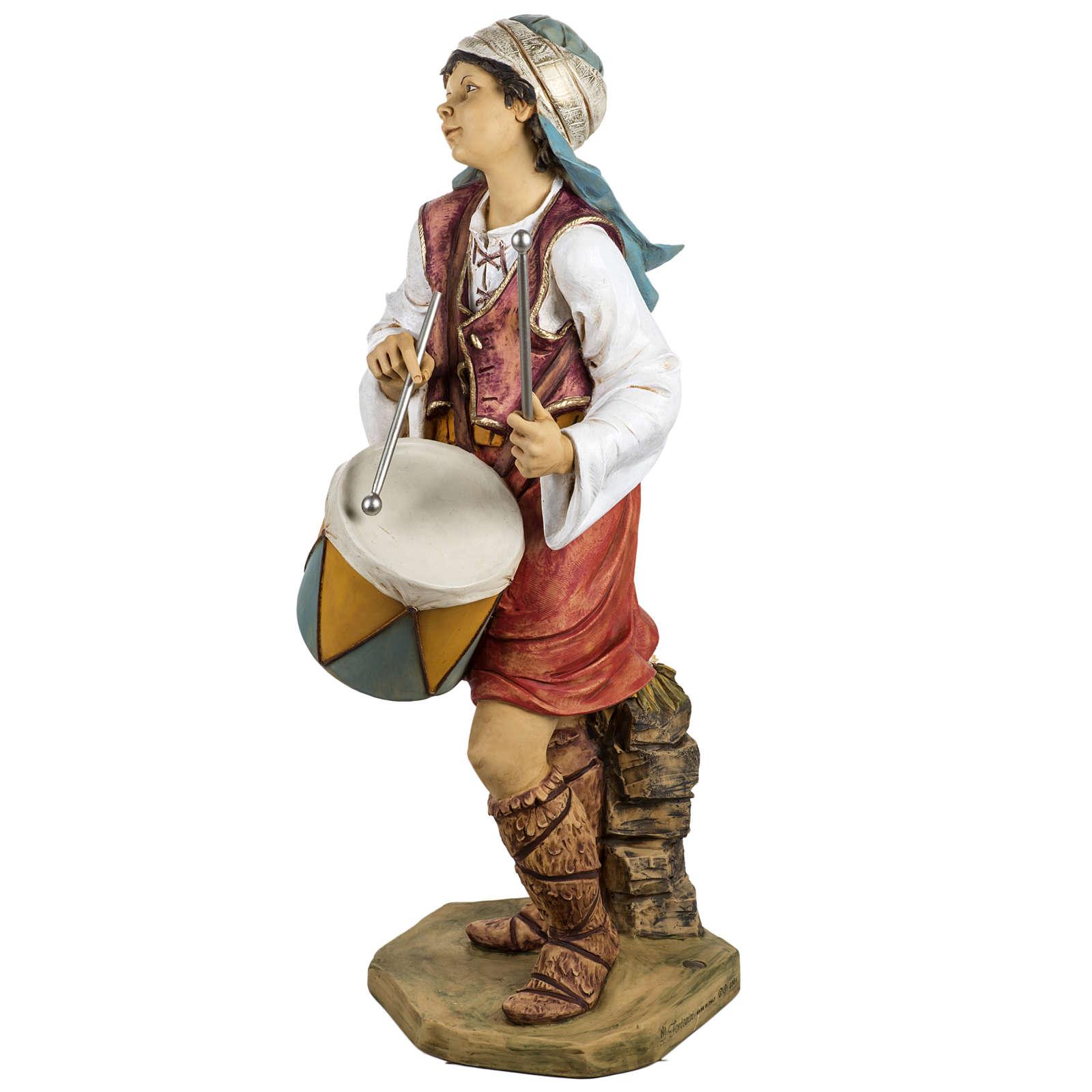 Pastore con tamburo 125 cm Fontanini 4