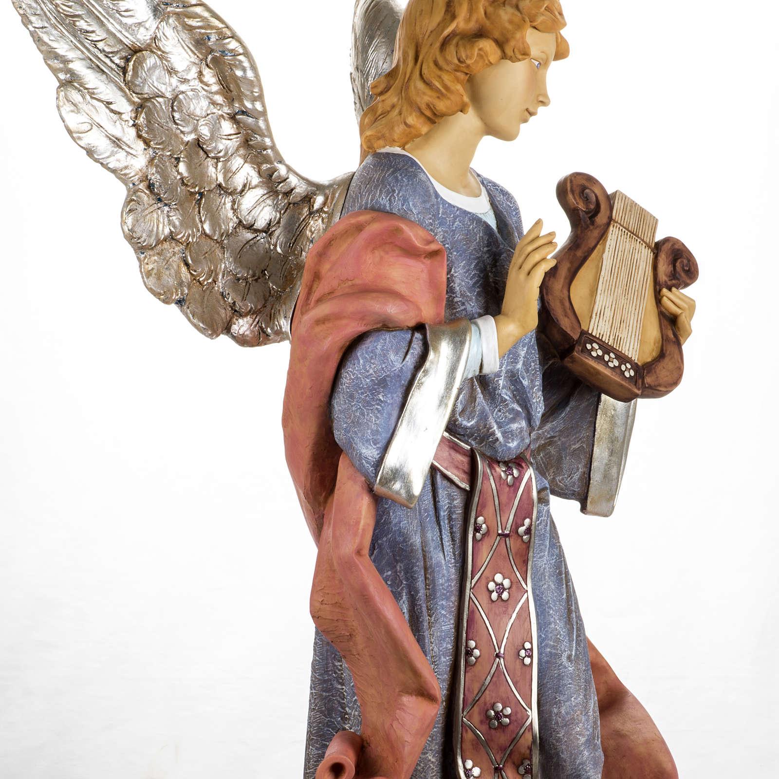 Ange debout crèche Fontanini 125 cm résine 3
